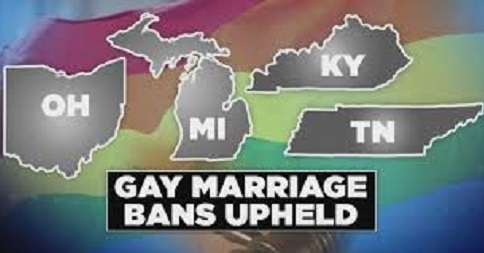 State gay marriage ban