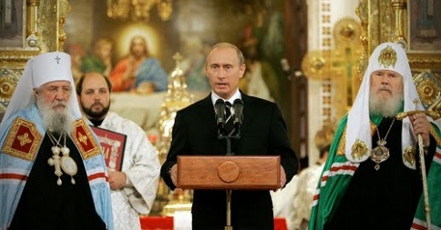 Putin Warns Obama – You've Turned USA & West Into Godless Sewer, Declares His Christian Faith