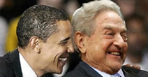 George Soros and Barrack Obama