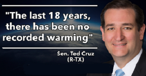 Ted Cruz on Climate Change
