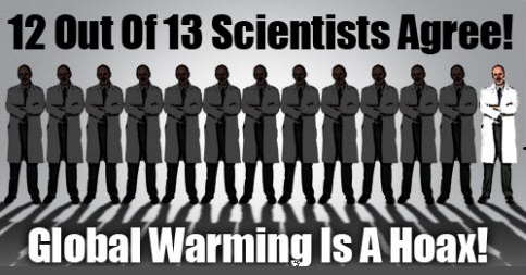 Climate Change and Global Warming are Lies