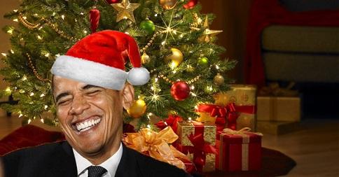 obama banned christmas