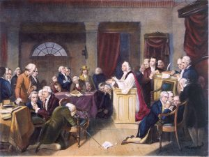 The First Prayer in Congress, September 7, 1774
