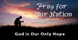 America Pray for our Nation
