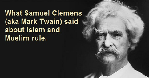 Samuel Clemens aka Mark Twain on Islam