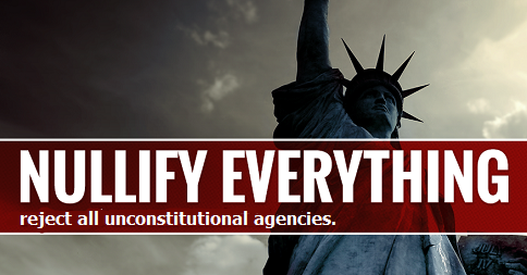 Reject Unconstitutional Federal Government Agencies