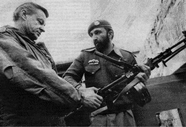 Zbigniew Brzezinski and Tim Osman (Osama bin Laden) discuss the string of Jihads that Zbigniew never regrets.